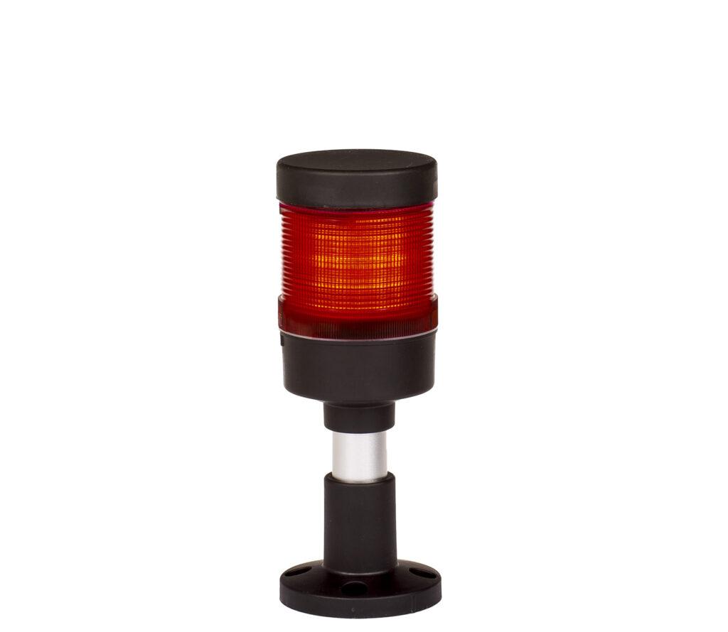Kolumna sygnalizacyjna LED FL70 - 1 moduł czerwony 12V/24V/230V