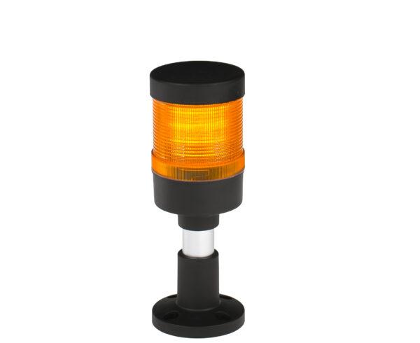Kolumna sygnalizacyjna LED FL70 - 1 moduł pomarańczowy 12V/24V/230V