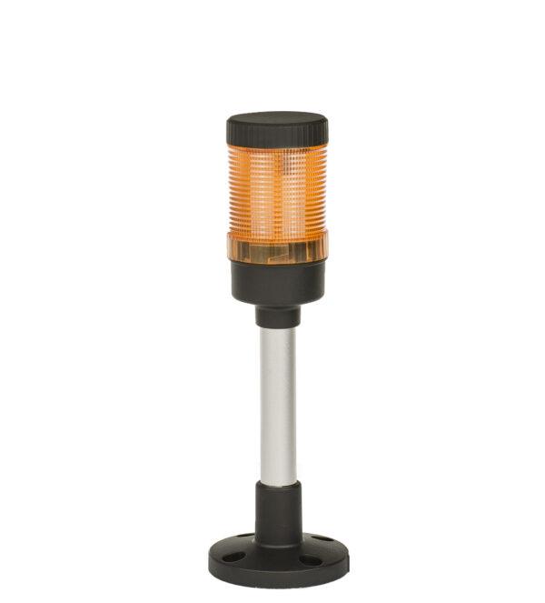 Kolumna sygnalizacyjna FL50 | 1 moduł pomarańczowy | 24V/230V
