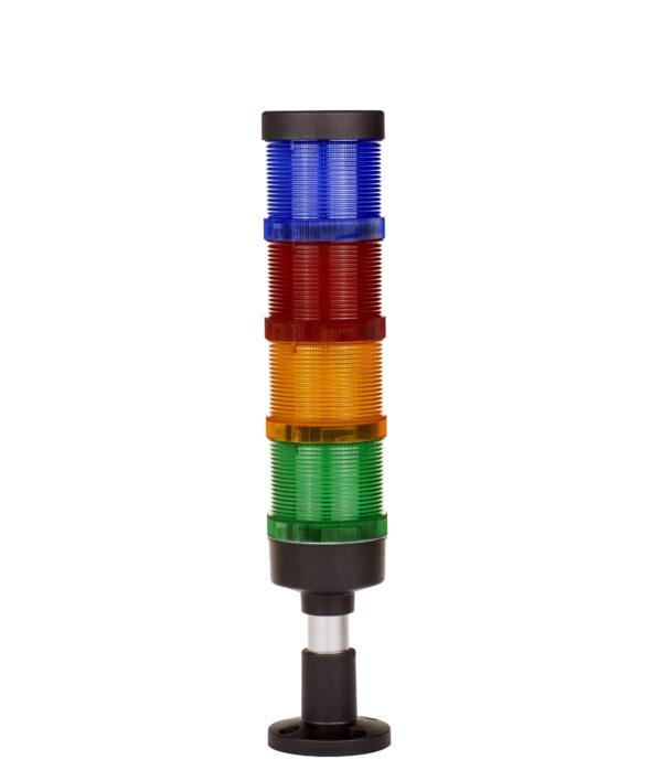 Kolumna Sygnalizacyjna FL70-4 kolory+BUZZER-12V/24V/230V