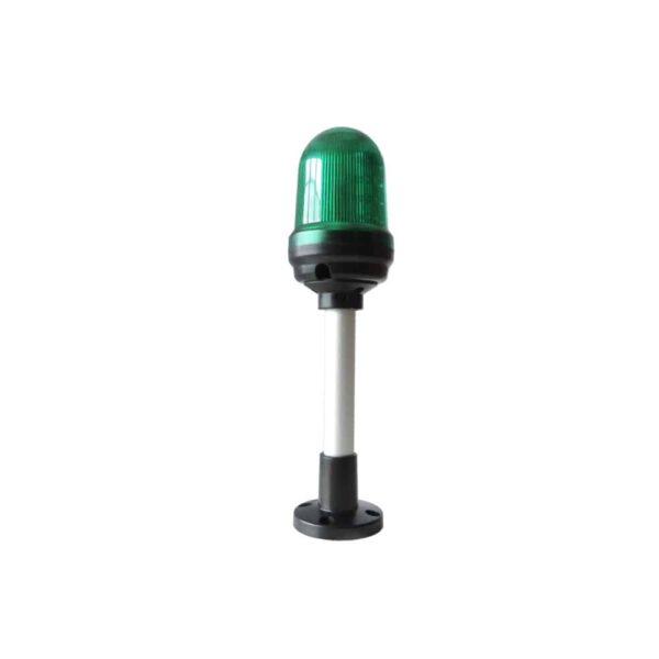 Sygnalizator optyczny QS90, buzzer w opcji, światło 2w1 24V/230V - zielony