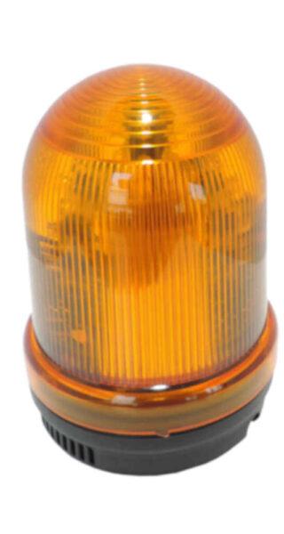 Lampa ostrzegawcza LED S90, kogut, opcja buzzer 100dB - yellow