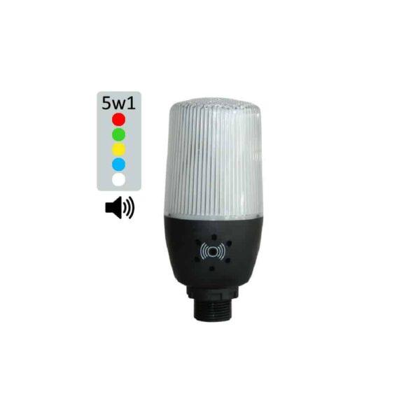 Multikolorowy sygnalizator LED IF5 50mm, światło 2w1