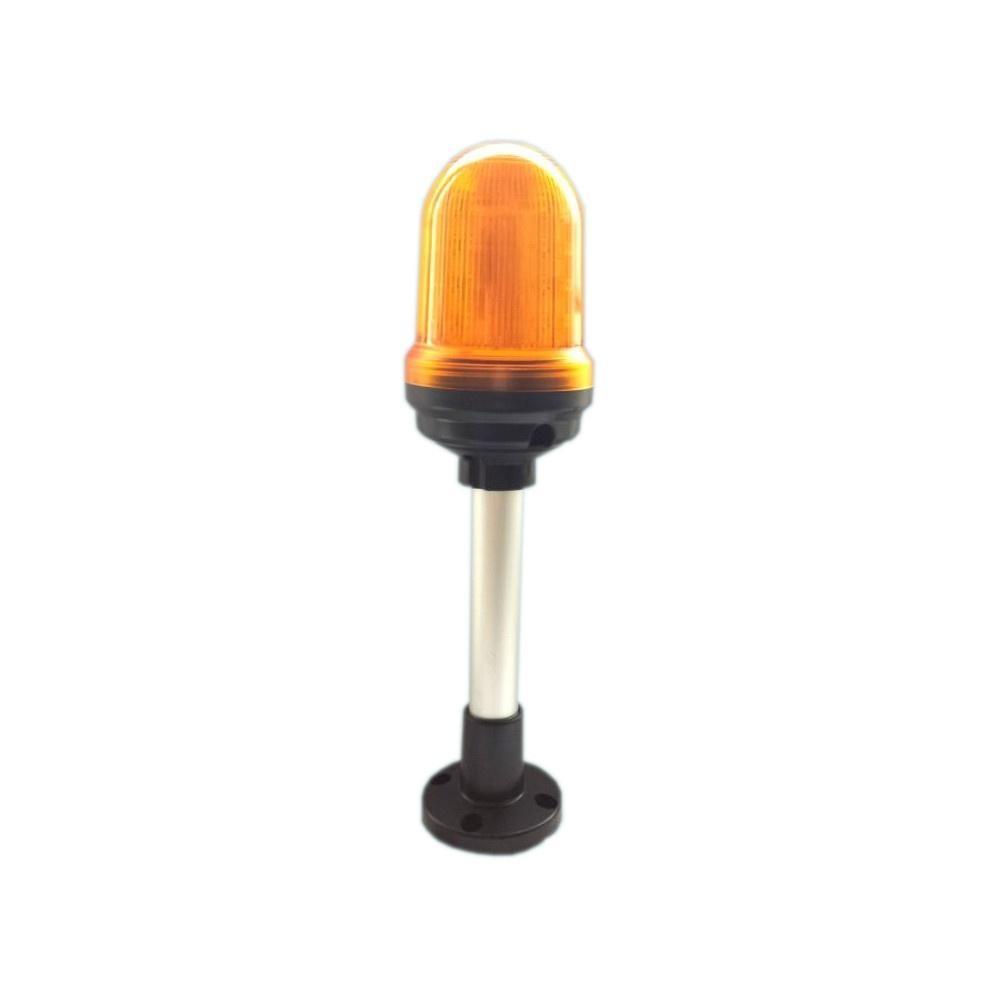 Sygnalizator optyczny QS90, buzzer w opcji, światło 2w1 24V/230V - pomarańczowy